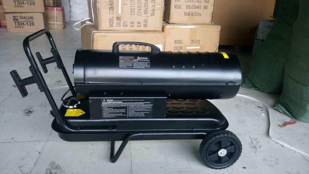 máy sấy bằng dầu diesel garan k-125