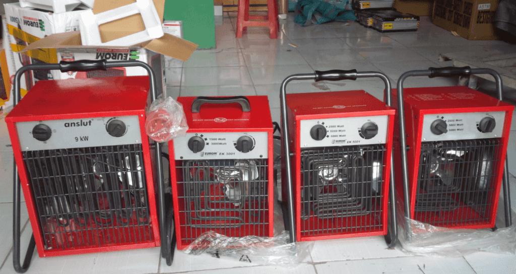 Máy sấy gió nóng bằng điện trở công nghiệp