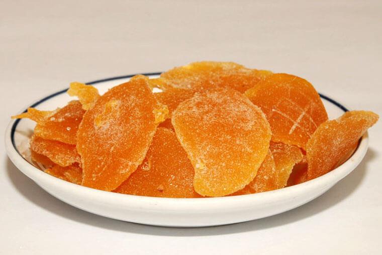 Sản phẩm của máy sấy dẻo hoa quả