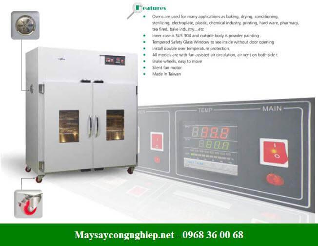 Tủ sấy công nghiệp nhiệt độ cao giá phù hợp