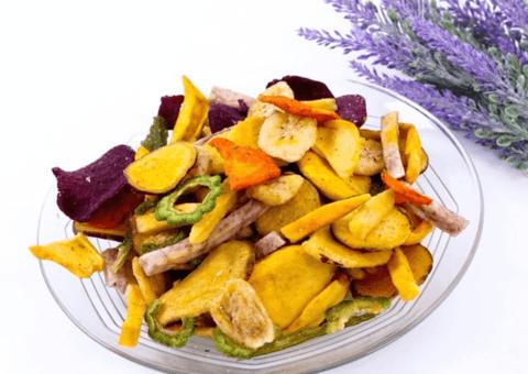Hoa quả sấy qua lò sấy vừa đảm bảo an toàn vừa giữ được giá trị dinh dưỡng