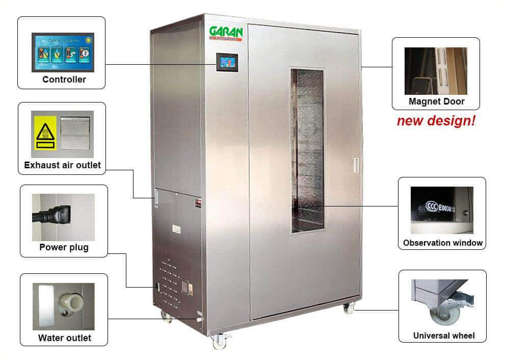 máy sấy thực phẩm công nghiệp GND - 100B