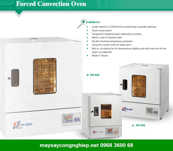 Thông tin giá máy sấy nông sản Nhiệt Độ Cao 250oC DK 500/ DK 600
