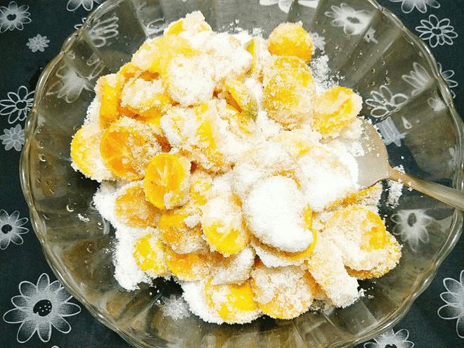 Ướp nguyên liệu với đường